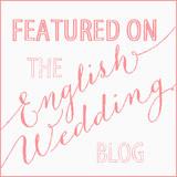 english wedding blog feature badge