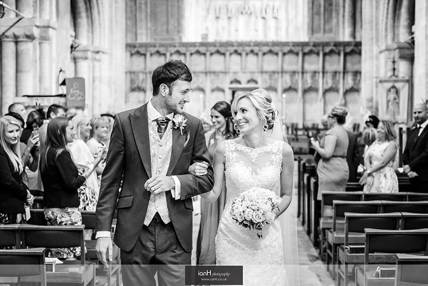 Wedding at Christchurch Priory