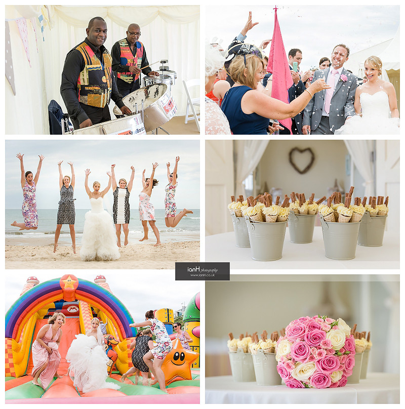 Beach Weddings Bournemouth celebrations