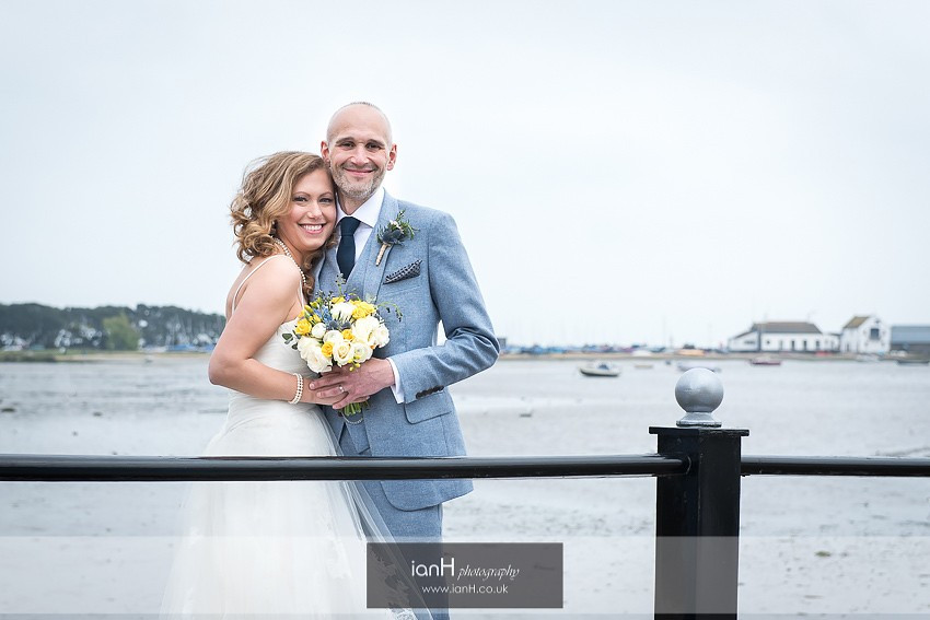 Wedding at Christchurch Harbour Hotel