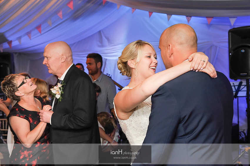 Wedding dance in Lyndhurst