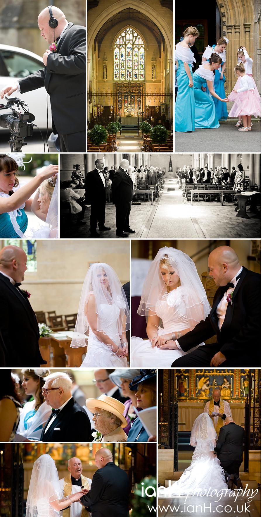 St. Ambrose Church wedding Westbourne