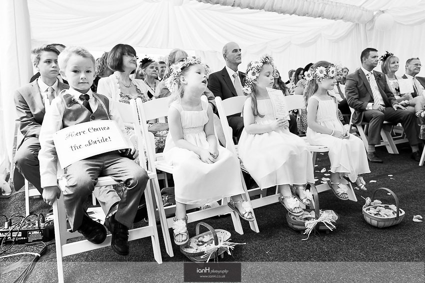 Flowergirls-and-page-boy- Hampshire-wedding
