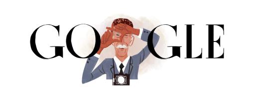 Sir Norman Parkinson honoured by Google
