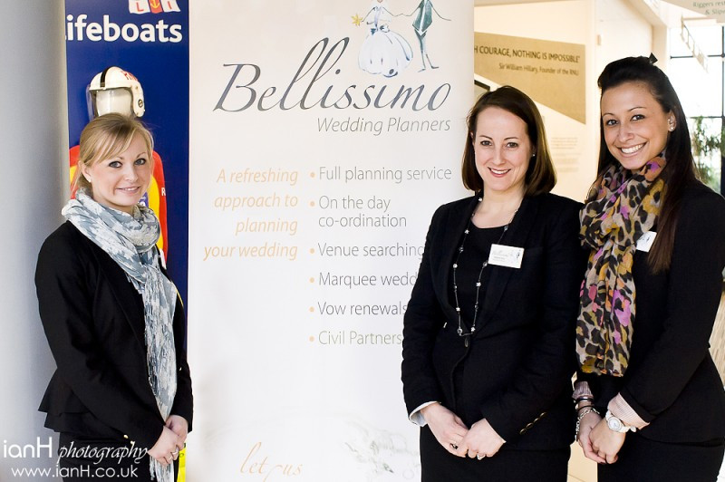 The team from Bellissimo Wedding Planners at the RNLI Wedding Show