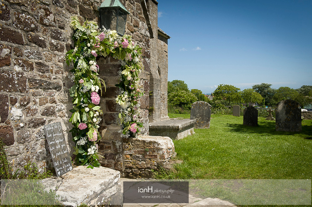 Studland Church Summer wedding-4