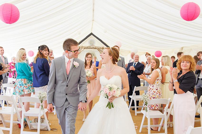 Beach Weddings Bournemouth aisle