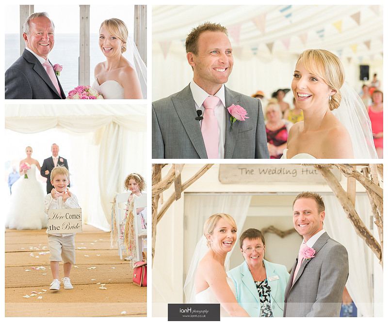 Beach Weddings Bournemouth Helen and Bradley
