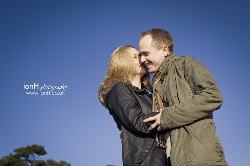 Bournemouth-wedding-photographer-engagement-shoot-at-Evening-Hill-in-Poole