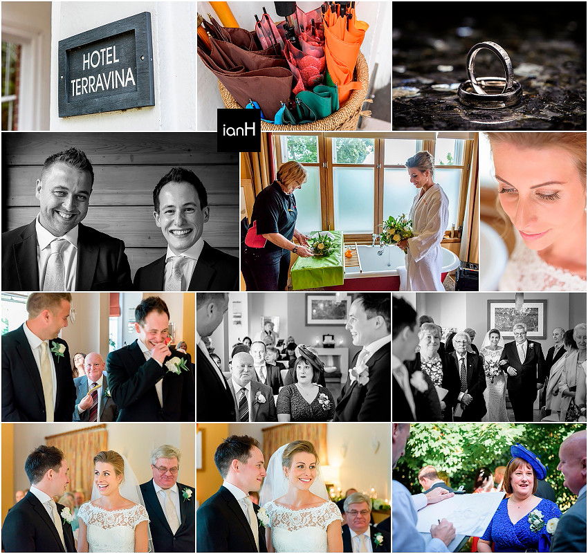Hotel Terravina New Forest wedding