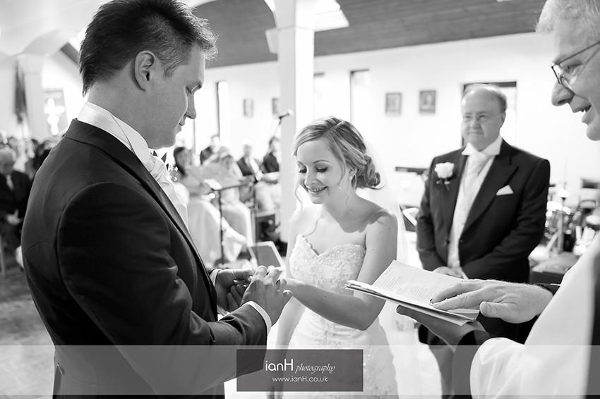 Verwood wedding in Church