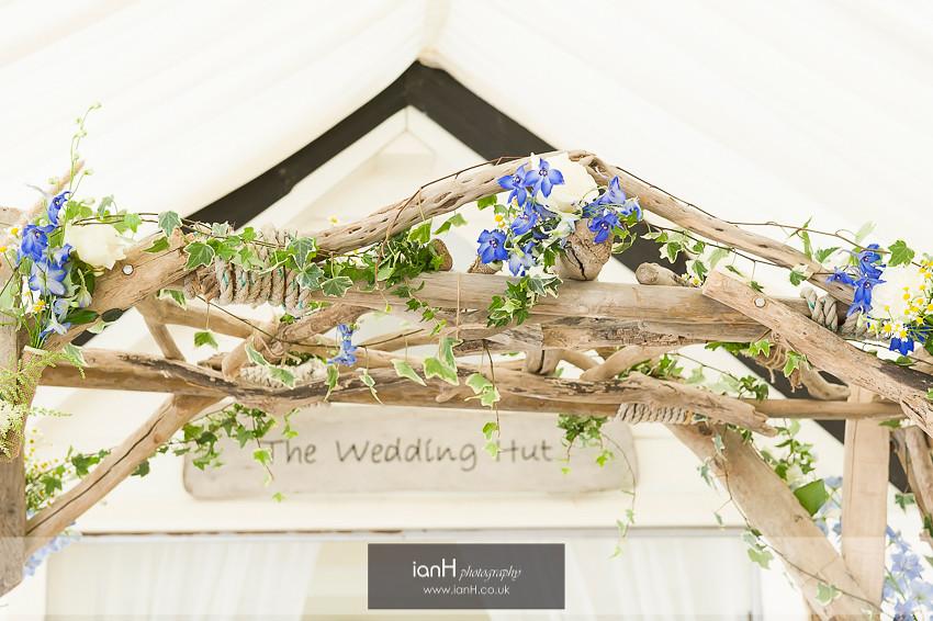 Wedding arch at Beach Weddings Bournemouth