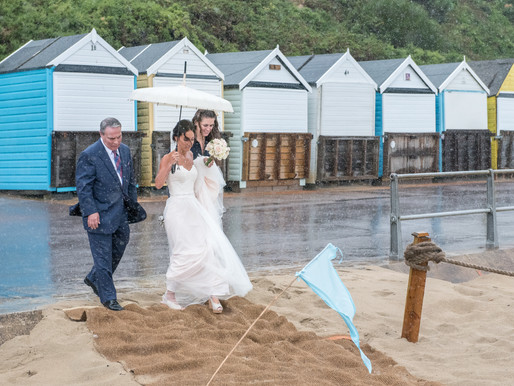 How to cope with a rainy wedding day