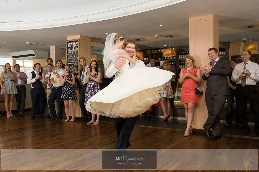 First Dance on Bournemouth Pier
