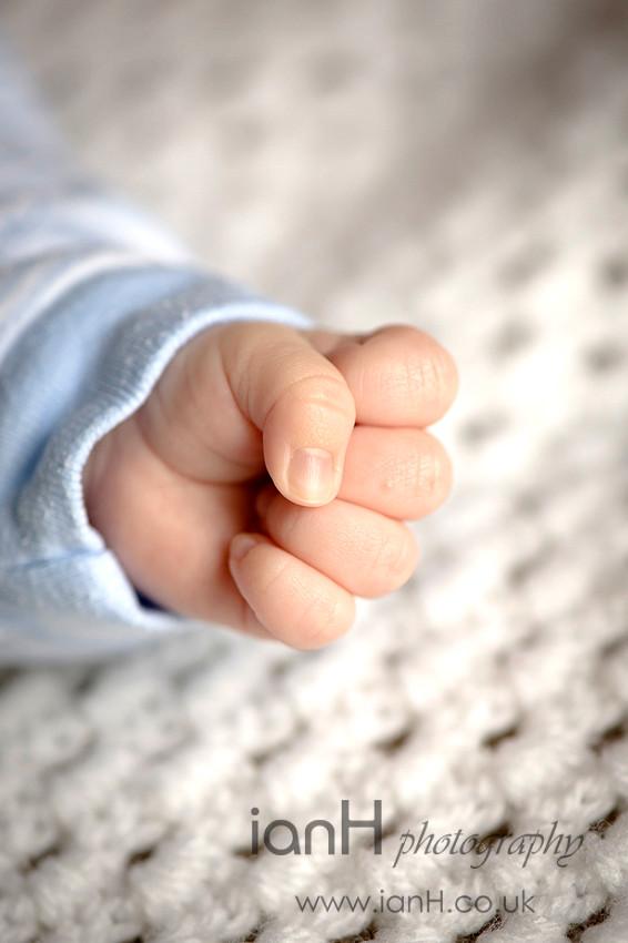 Baby's hands - Dorset portrait photographer