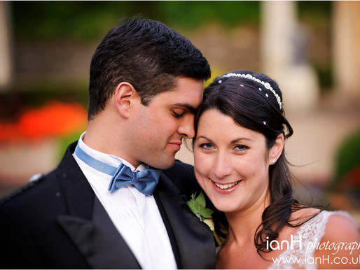 First wedding anniversary – Dorset wedding of Clare and Michael