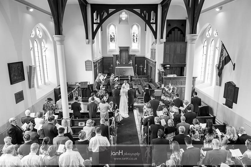 Wedding at St. Marys Church Copythorne