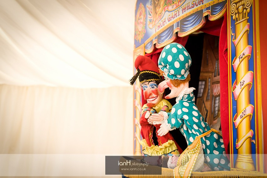Punch and Judy on Bournemouth beach