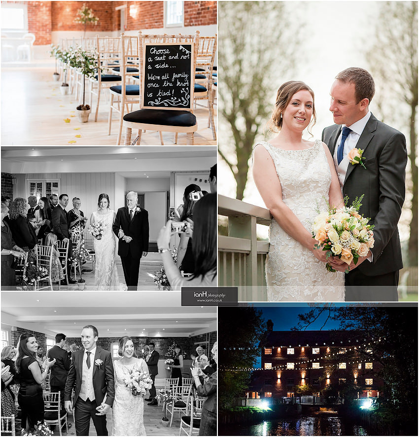 Sopley Mill October wedding