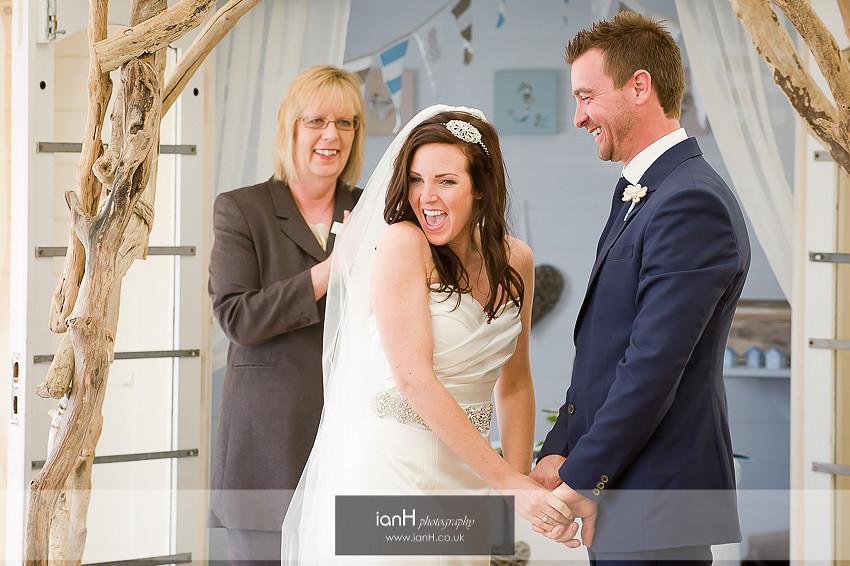 Lucy & Stu's Beach Weddings Bournemouth Anniversary