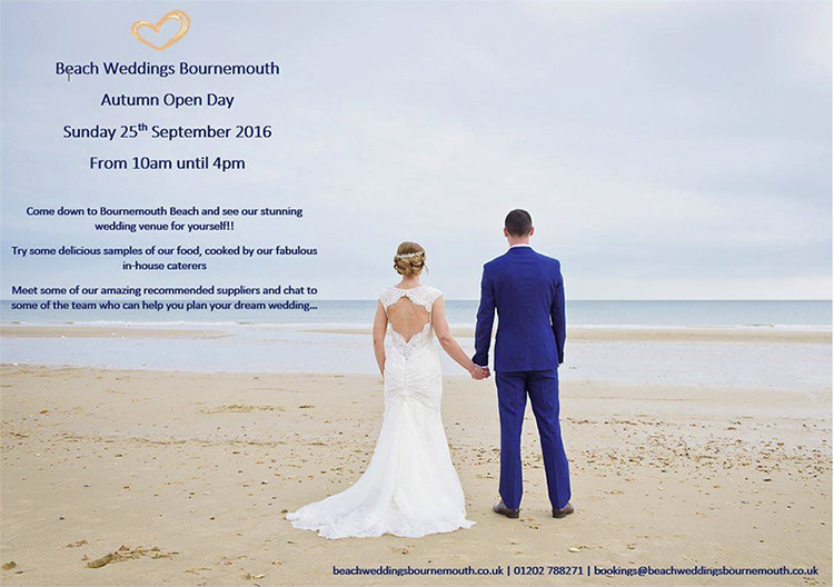 Beach Weddings Bournemouth Open Day 2016