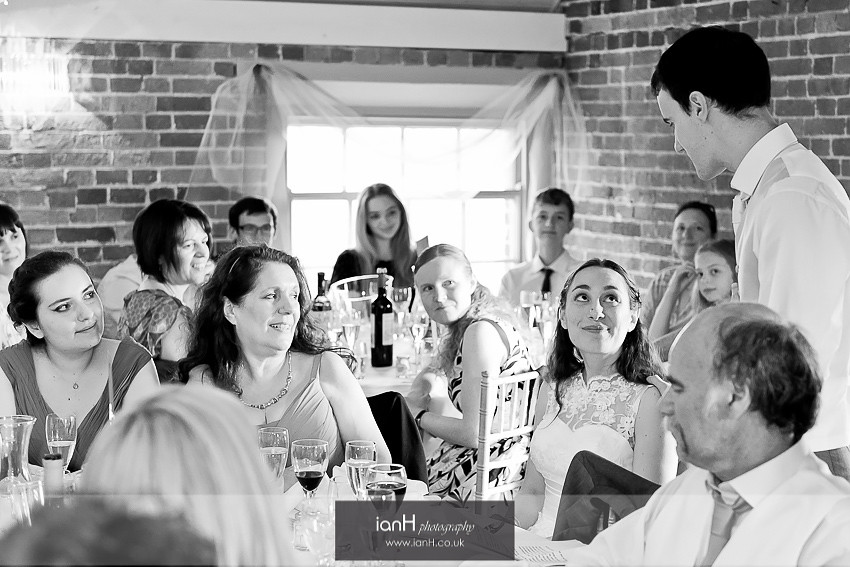 Sopley Mill wedding speech