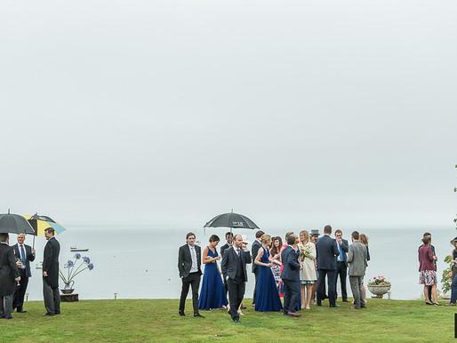 Advice on wet weather weddings