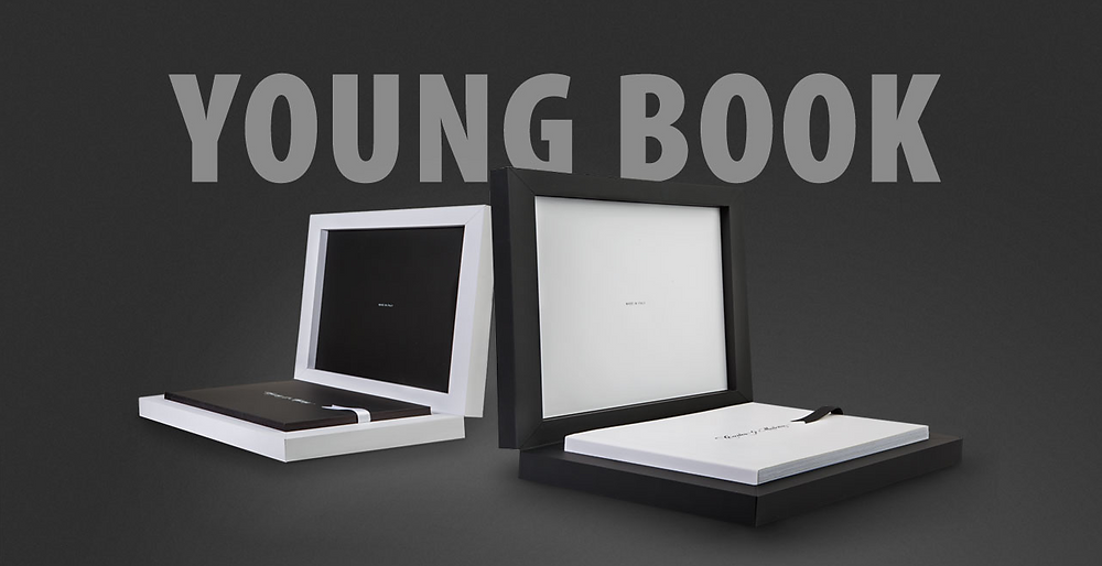 Announcing a new, sleek wedding album from Graphistudio Albums - The Young Book