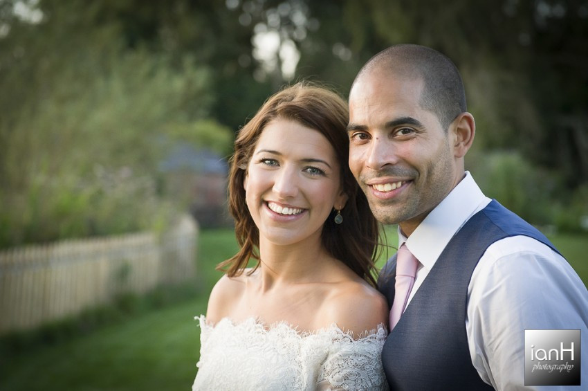 Romantic portraits Sopley Mill wedding
