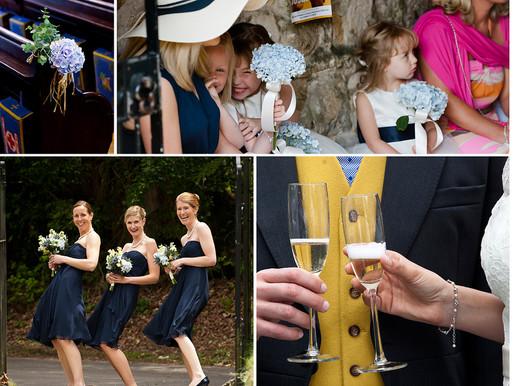 Hampshire wedding photographer – the Brockenhurst wedding of Niki and Duncan
