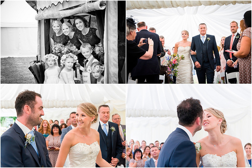 Hampshire country wedding - Teoni and Bradly