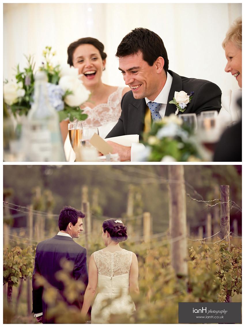Setley Ridge Vineyard wedding