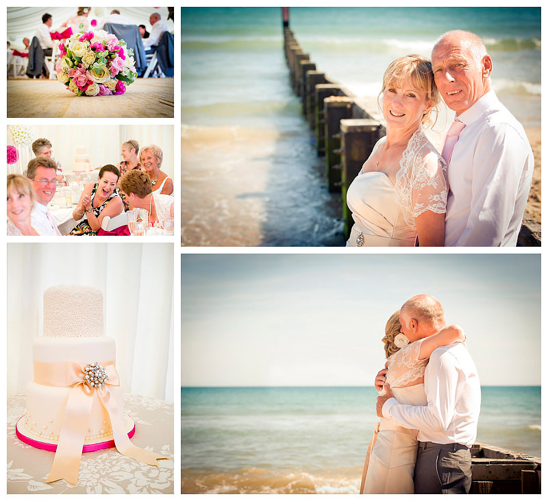 Weddings on Bournemouth beach