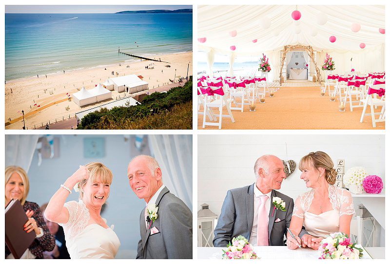 Beach Weddings Bournemouth - Jan and Keith