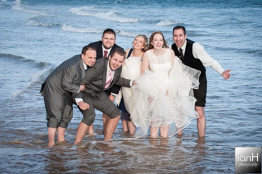 Bournemouth beach wedding photographer review