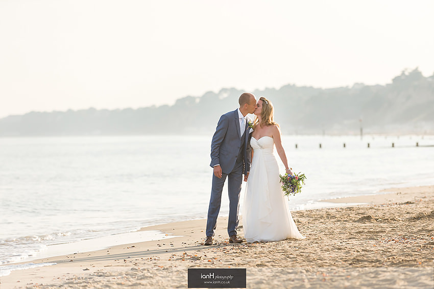 Beach Weddings Bournemouth - Cath and Nick
