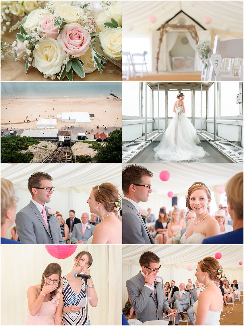 Beach Weddings Bournemouth - Crystal and Craig