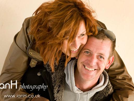 Danielle and Mike – engagement shoot. Dorset photographer
