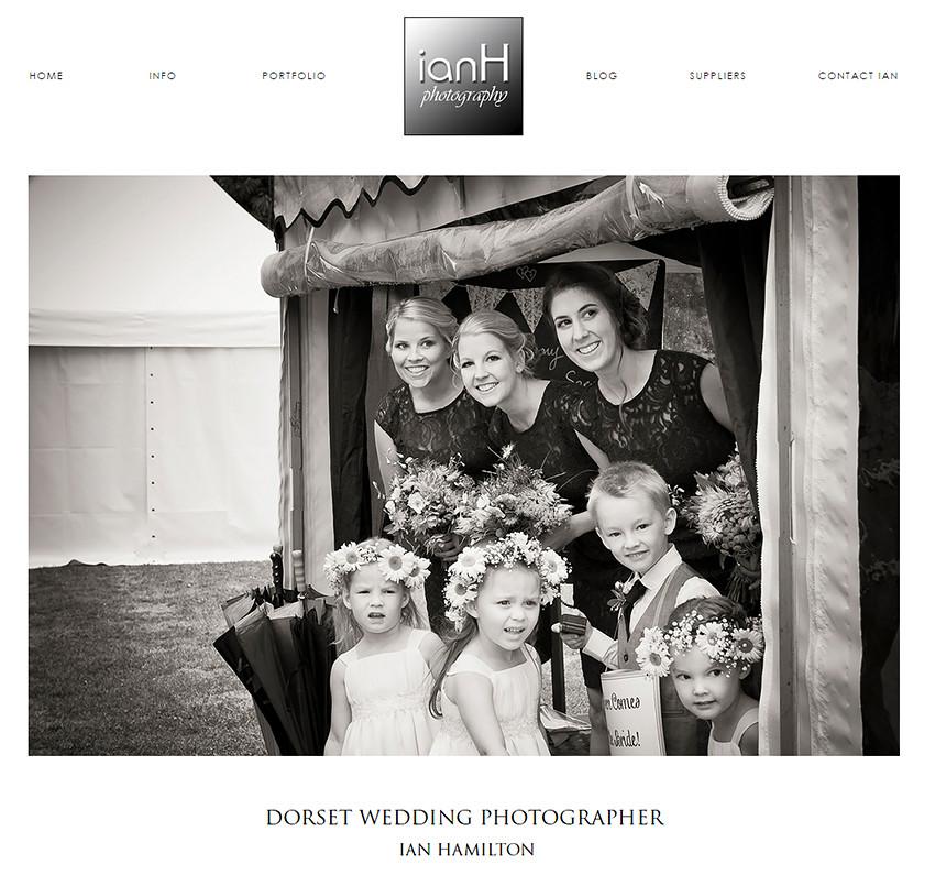New website for leading Dorset wedding photographer