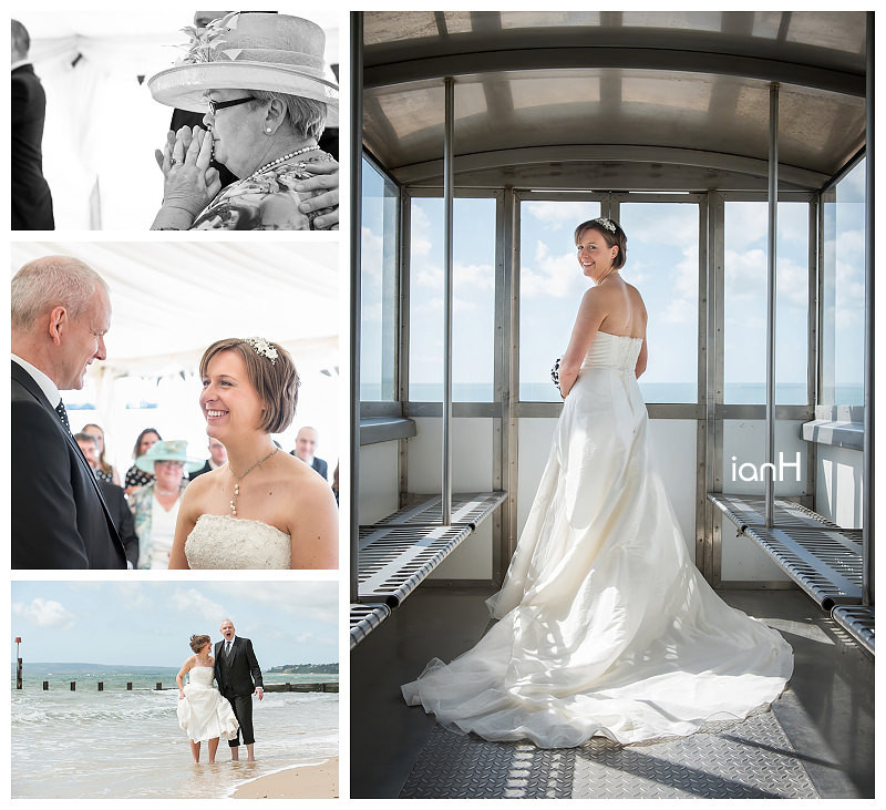 Emma and Andrew - Beach Weddings Bournemouth