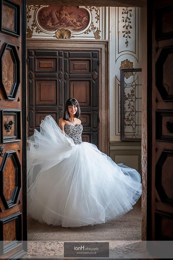 Venice wedding fashion shoot