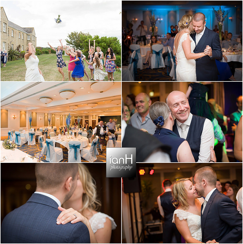 Bournemouth Marriott Highcliff Hotel wedding