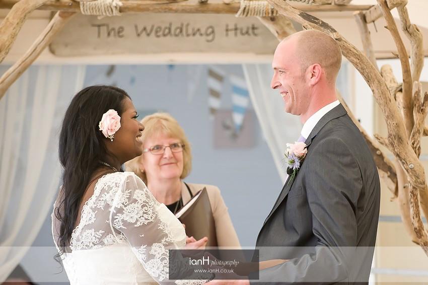 Bournemouth beach wedding - anniversary