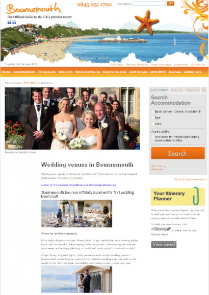 Bournemouth beach weddings Dorset photography