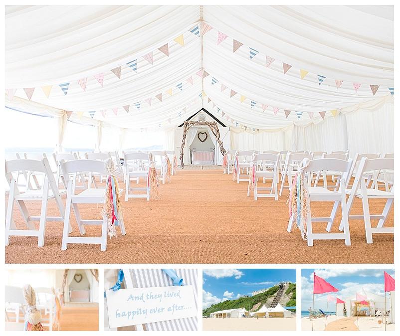 Beach Weddings Bournemouth - Helen & Bradley 1