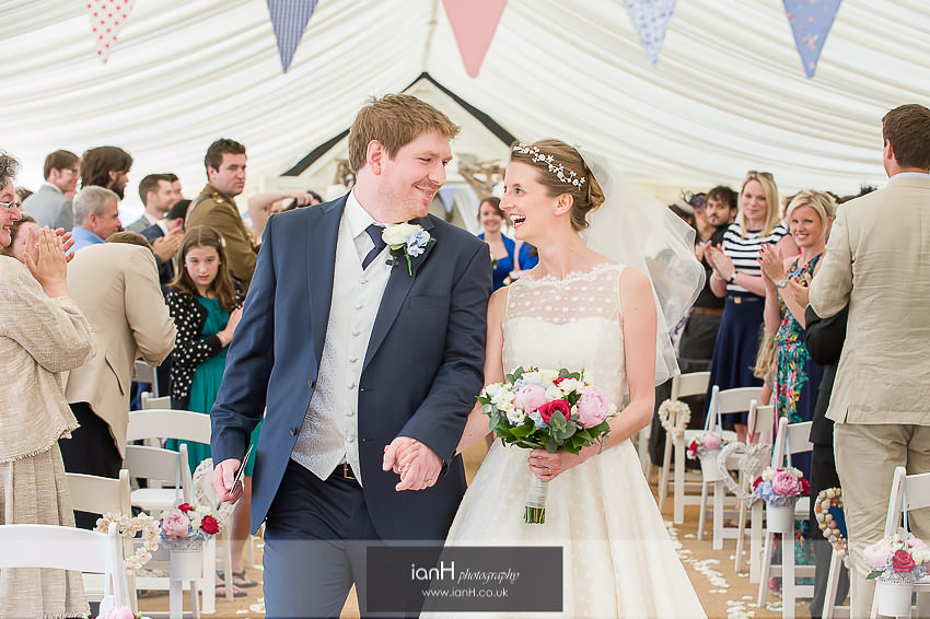 Beach Weddings Bournemouth - Sarah and Andy