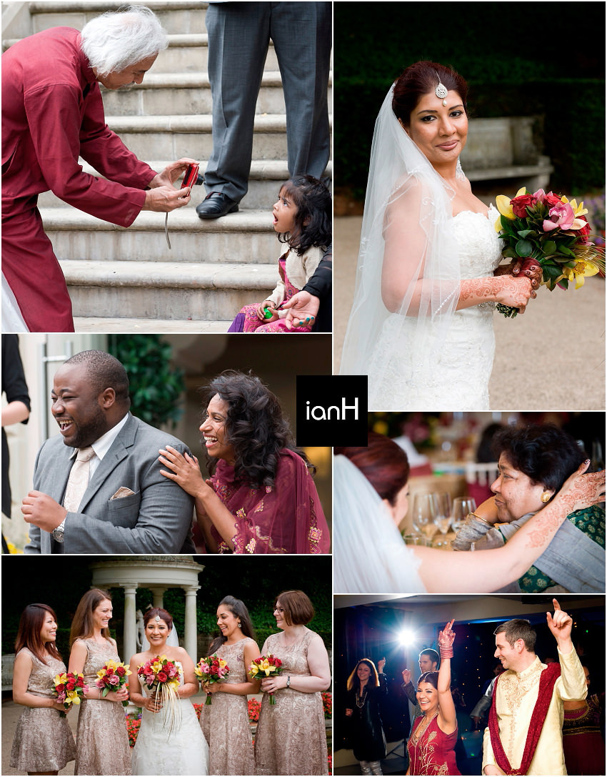 Double August wedding celebrations