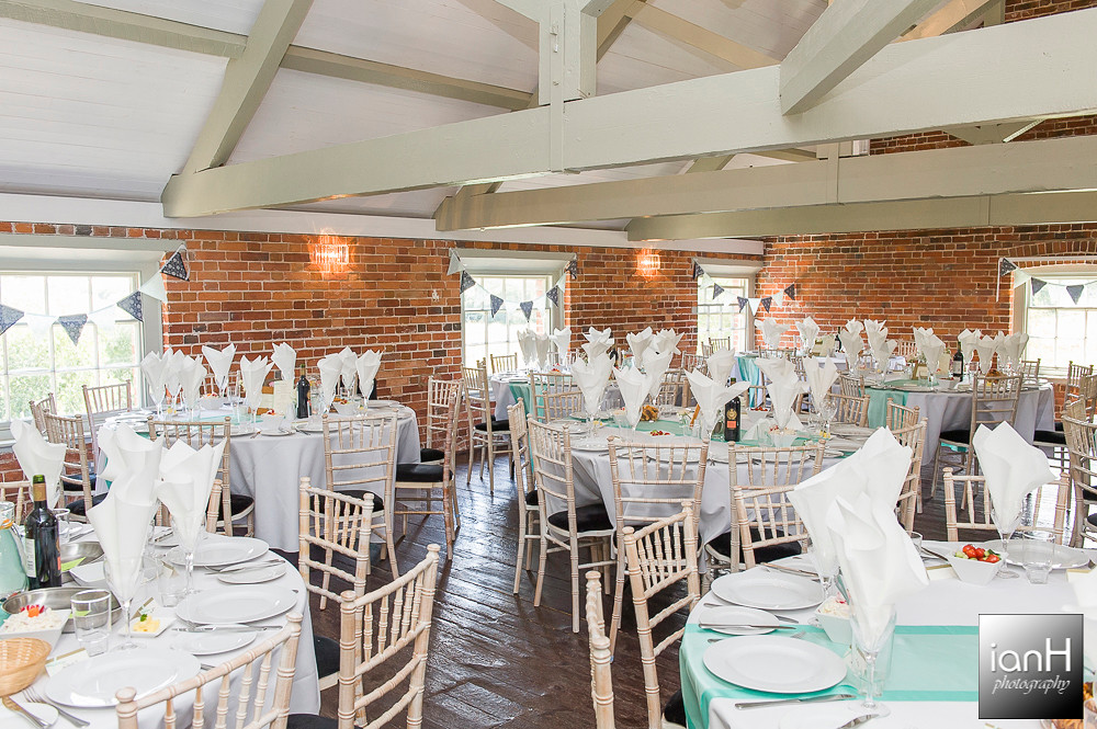 Wedding breakfast at Sopley Mill