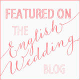 english wedding blog feature badge