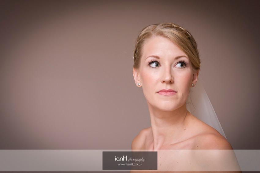 Bridal portrait - Hampshire country wedding